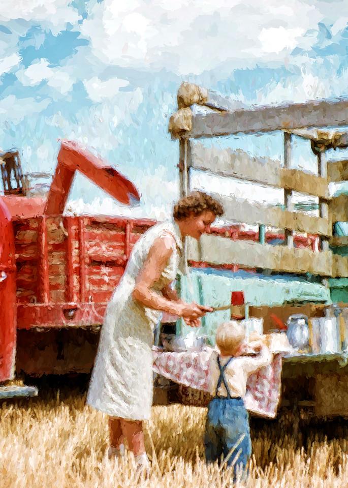 Harvest Dinner Photography Art | Craig Edwards Fine Art Images
