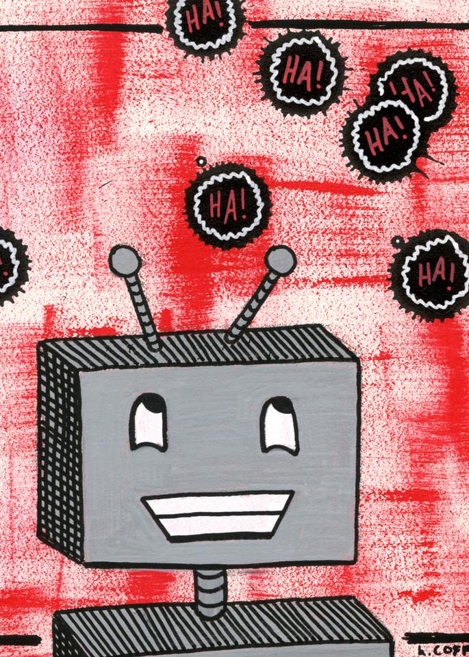 Ha!Bot Art | Laura Coffee