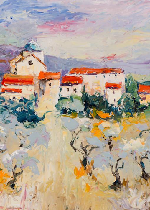 Spanish Vines, art print by James Pratt