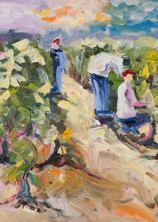 Harvest Time, art print by James Pratt