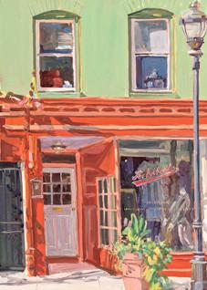 Charles St. Neighbors / Print Art | Crystal Moll Gallery