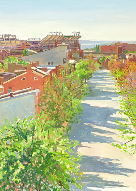 Federal Hill's Spring / Print Art   Crystal Moll Gallery