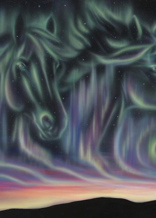 Sky Dance   Horses Art | Amy Keller Rempp Art