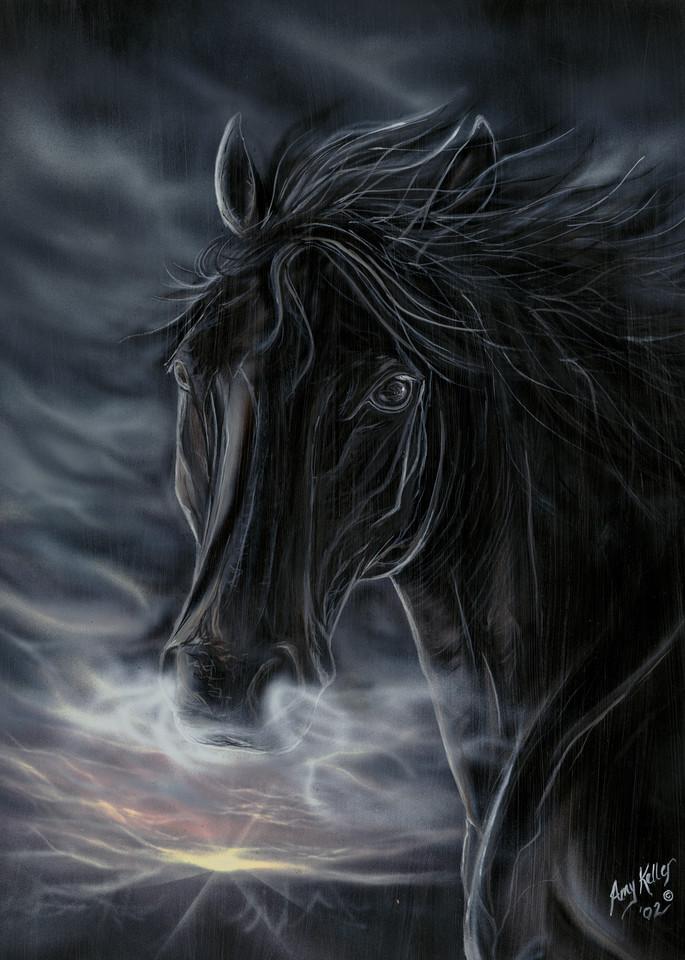 Black Night Art | Amy Keller Rempp Art
