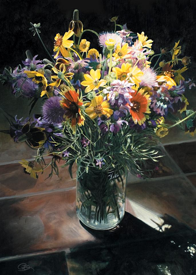Wildflower Bouquet II Print