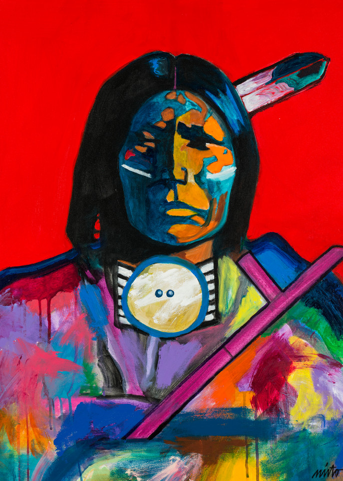Red Bear | John Nieto Open Edition Giclee