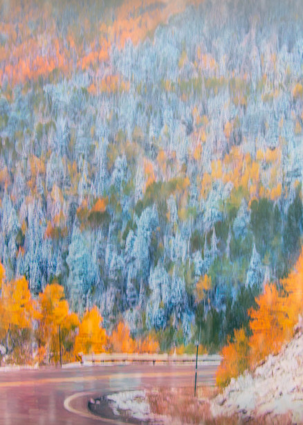 Highway To Autumn Photography Art   Images2Impact