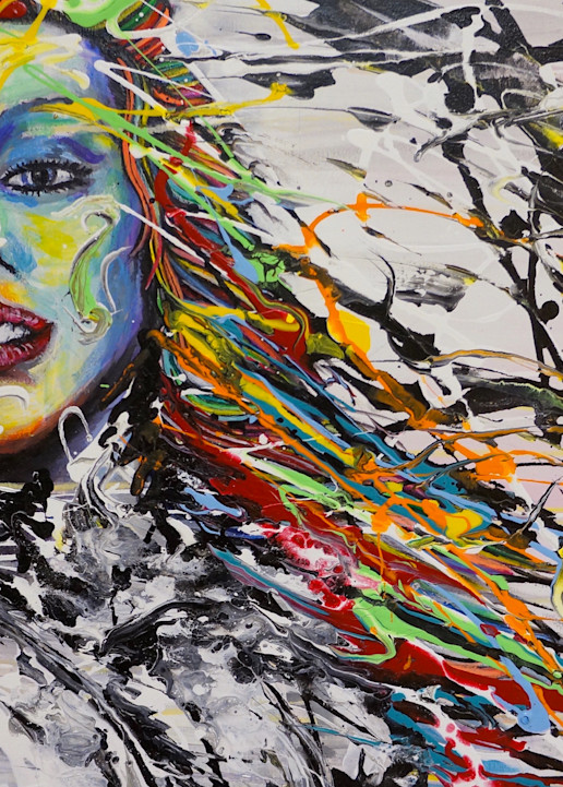 Flair Hair Art | Art by Trev: Trevor Griffin Fine Art