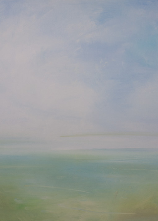 Soft Seascape Vii Art | Sandy Garnett Studio