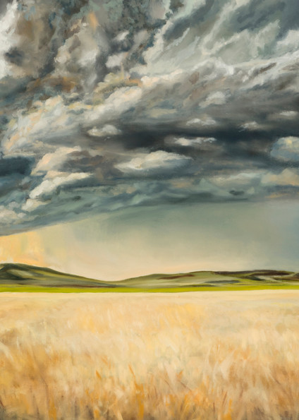 Kansas Storm painting