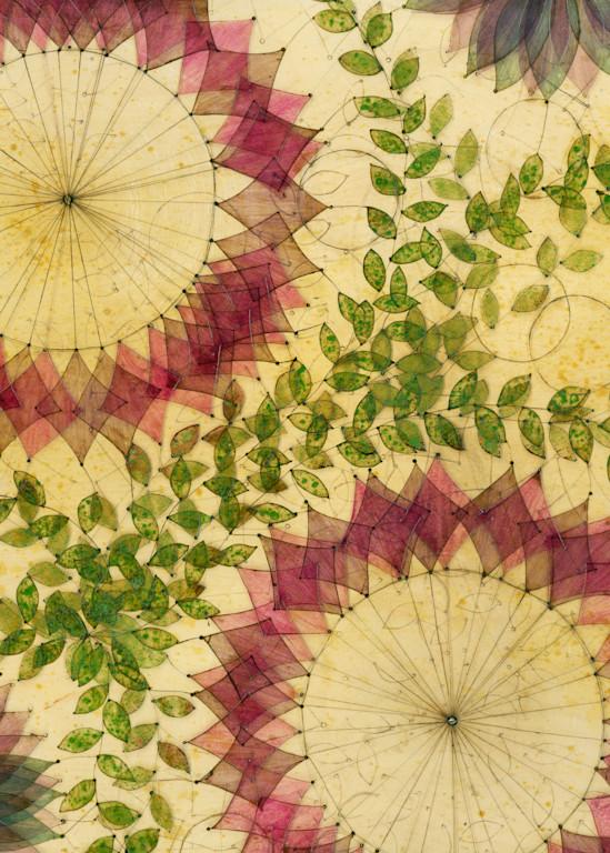 Violets Art   Karen Sikie Paper Mosaic Studio