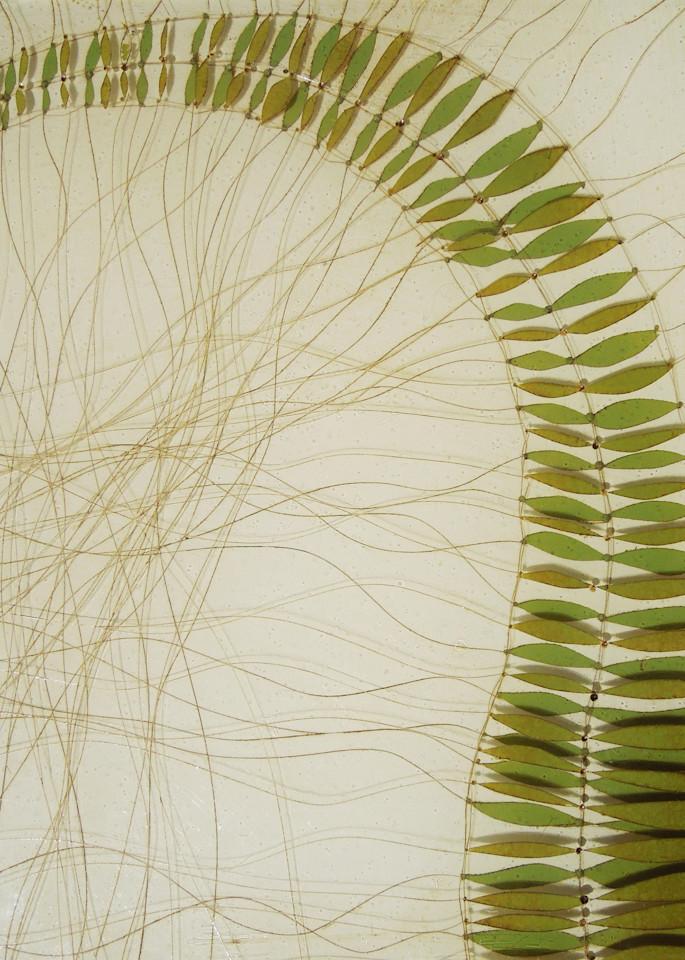 Bending Fern Art | Karen Sikie Paper Mosaic Studio