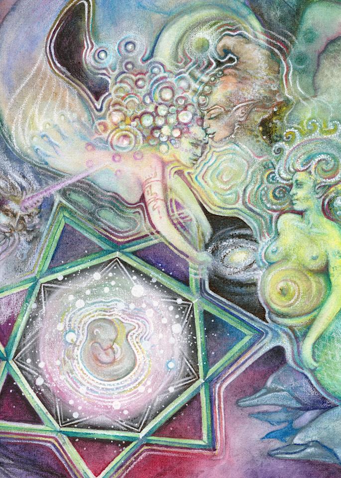 Water Birth - Fine Art Prints - The Art of Ishka Lha