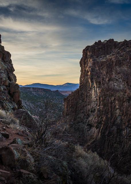 Diablo Canyon, Photography, landscape, dusk, new mexico, santa fe, southwest