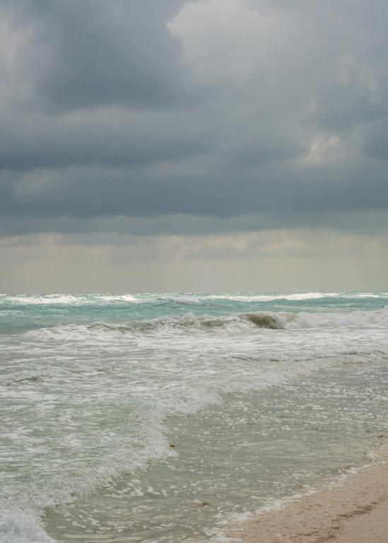 Tulum Sea Storm