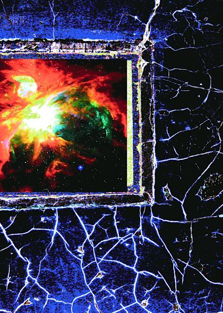 Abstract Art. Space Web, Art Photo Print
