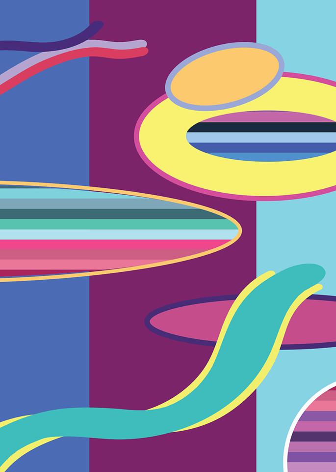 organic, shapes, wall art, art, patterns