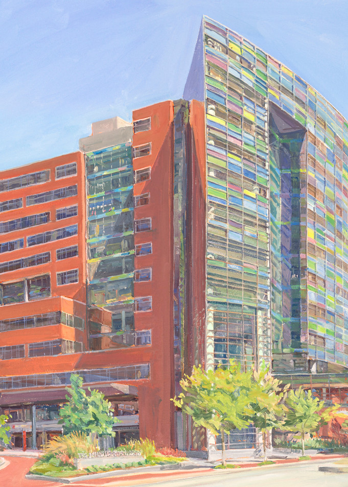 Johns Hopkins Bloomberg Children's Center / Print Art   Crystal Moll Gallery