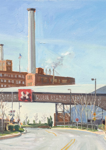 Old And New Industry / Print Art | Crystal Moll Gallery
