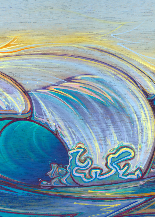 Below Sea Level Painting by Spencer Reynolds