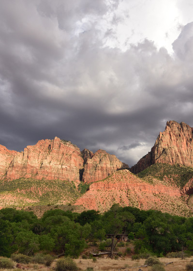 The Watchman - Zion National Park Photographs - Utah - Fine Art Prints on Metal, Canvas, Paper & More By Kevin Odette Photography