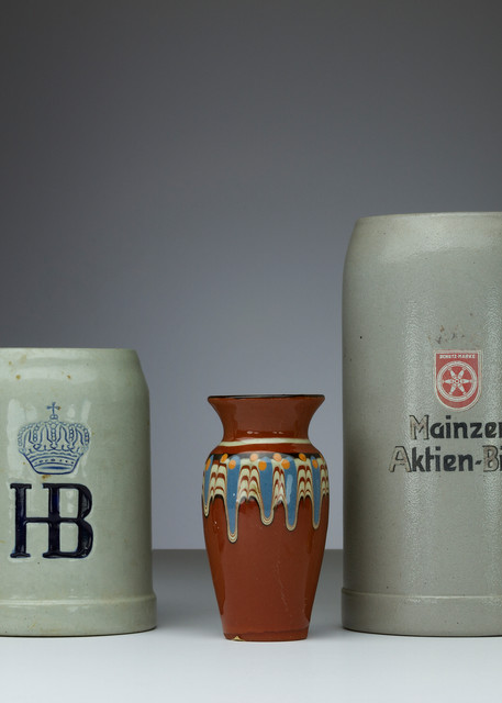 Fine Art Photograph of Vases and Mugs by Michael Pucciarelli