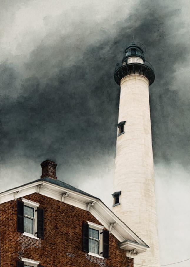 England, Lighthouse, scan