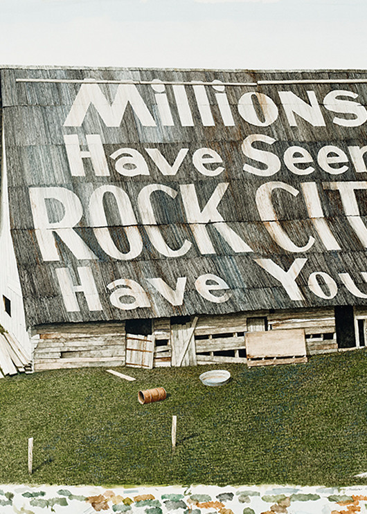 England, Rock City, Scan