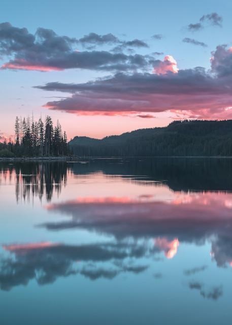 Island Lake Sunset Photography Art | Derrick Snider Imagery