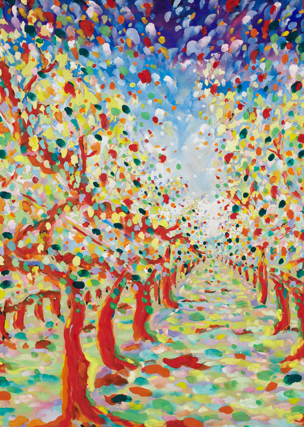 In The Vineyard I Art | Artiste Winery & Tasting Studio