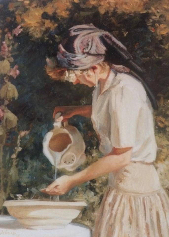 Bowl And Pitcher Art | Lesa Delisi, Fine Arts