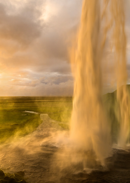In a Daze - Seljalandsfoss in southern Iceland