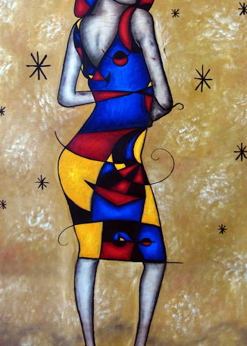 Cosmic Girl fine art print