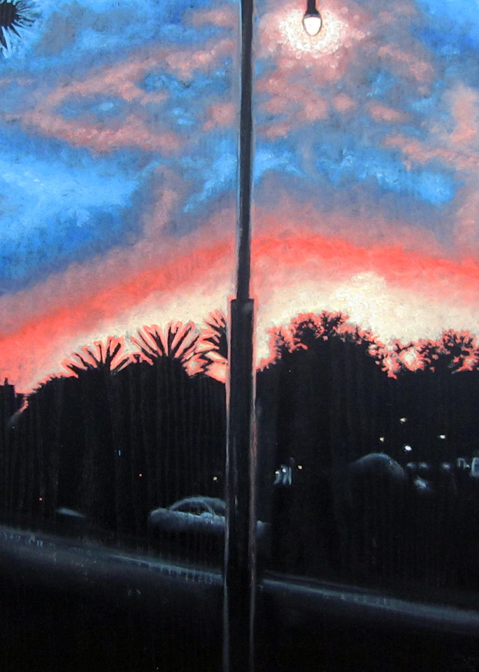 Sunset Over Playa Vista  Art   PMS Artwork