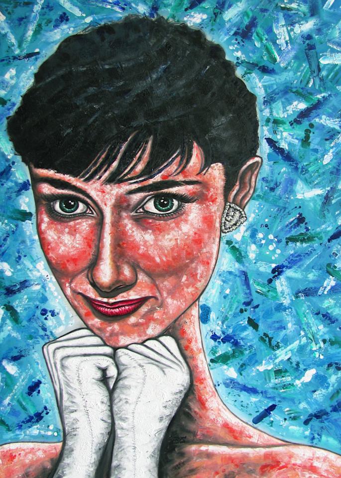 Audrey, Larger Than Life  Art   PMS Artwork