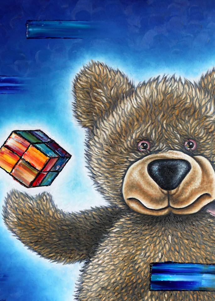 The Little Bear Discovers The Secret Art | PMS Artwork