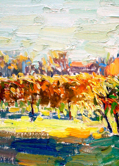 """""""Napa Evening"""", Oil on Canvas, by Daniel Bayless"""