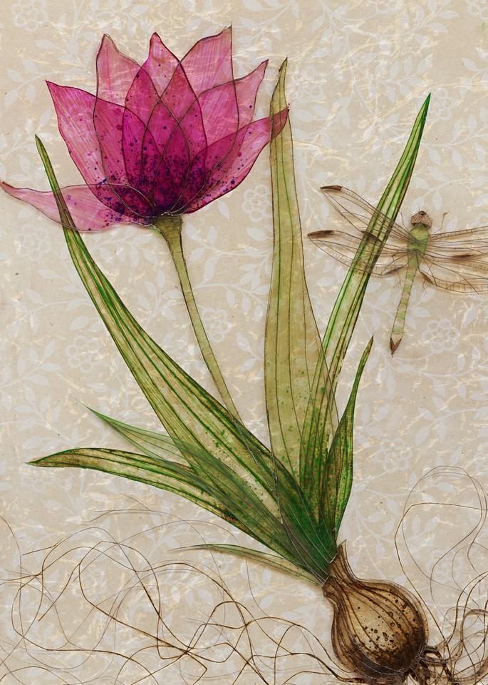 Uprooted 3  Art | Karen Sikie Paper Mosaic Studio