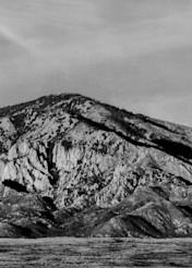 Wolf Moon over Capitan Mountain