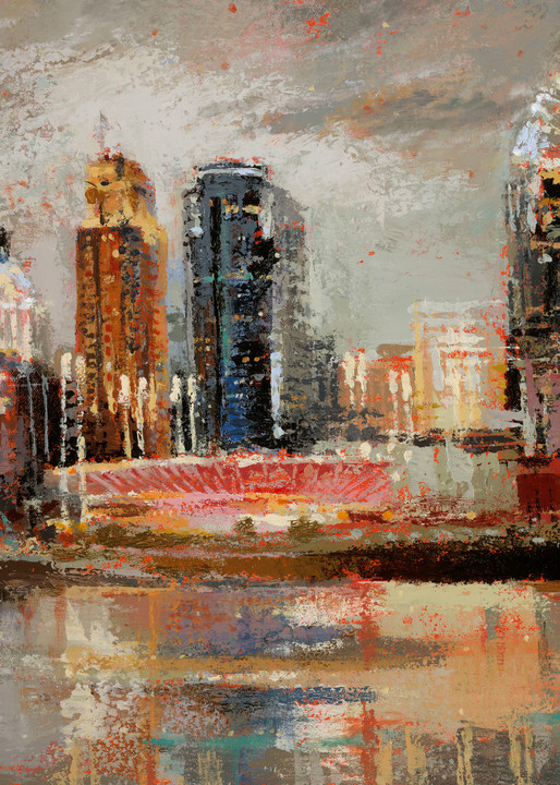 Cincinnati In The Mood Art   Robin Imaging Services
