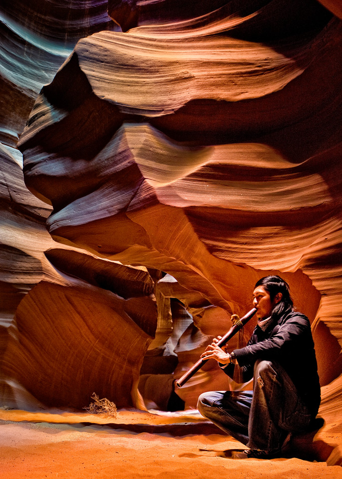 Award Winning Antelope Canyon Song Archival Print