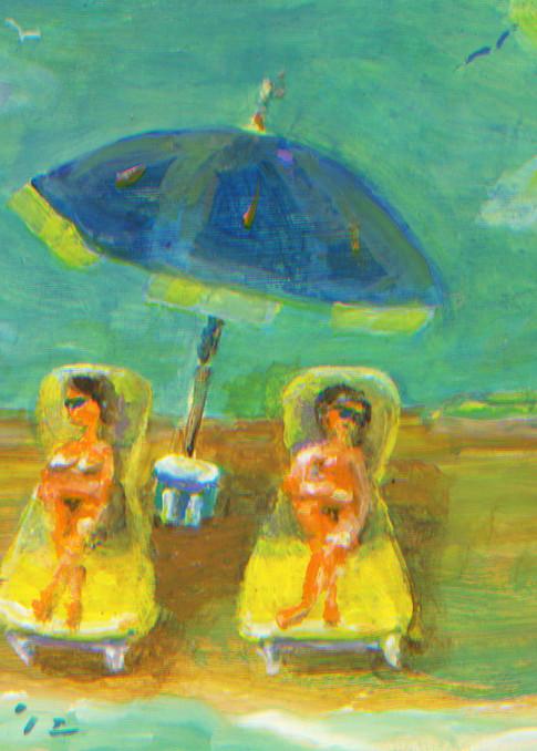 Westport Beach #2 Art Print
