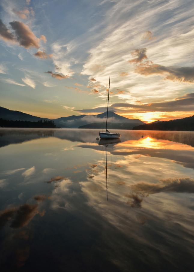 Summer Sunrise On Lake Placid Art | Michael Sandy Photography