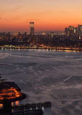 Nyc Sunset Art | Michael Sandy Photography