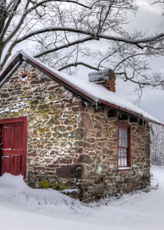 Winter at the Bathhouse - Michael Sandy Photography