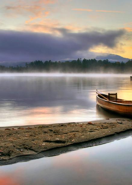 Morning Fog On Huddle Bay Art | Michael Sandy Photography