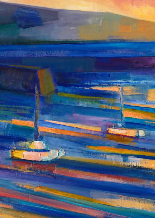 Sunset 12.31.2018 (Half Moon Bay Harbor Village) Art | Sonnets in colour