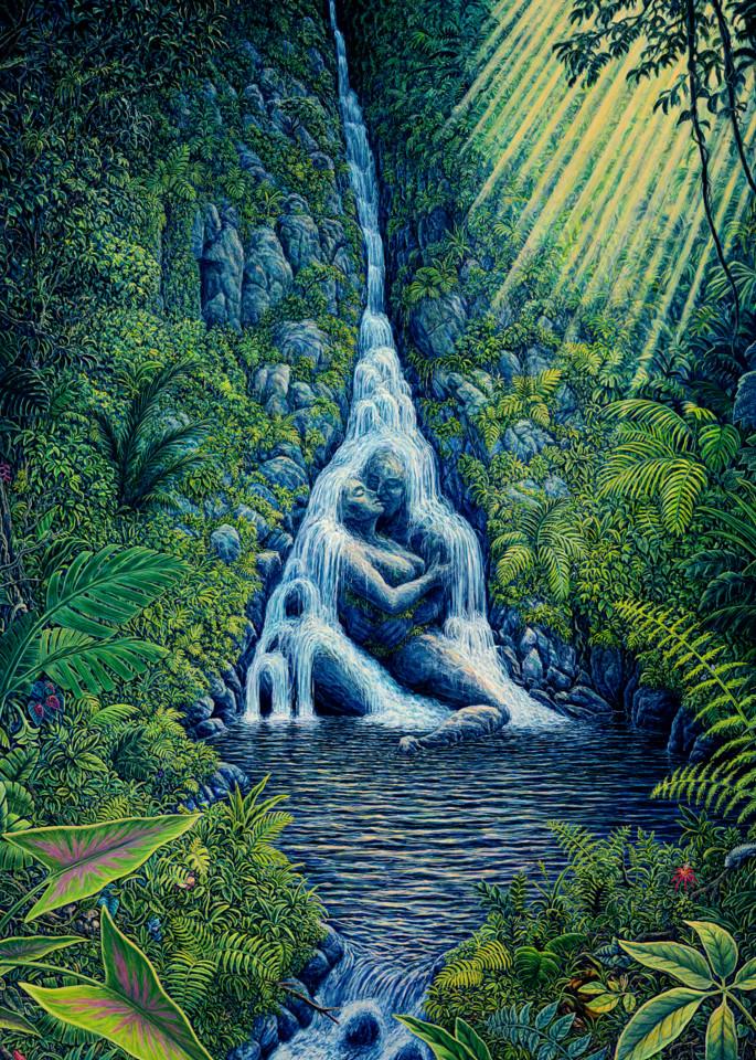 Ravine Rapture custom print from the original painting by Mark Henson