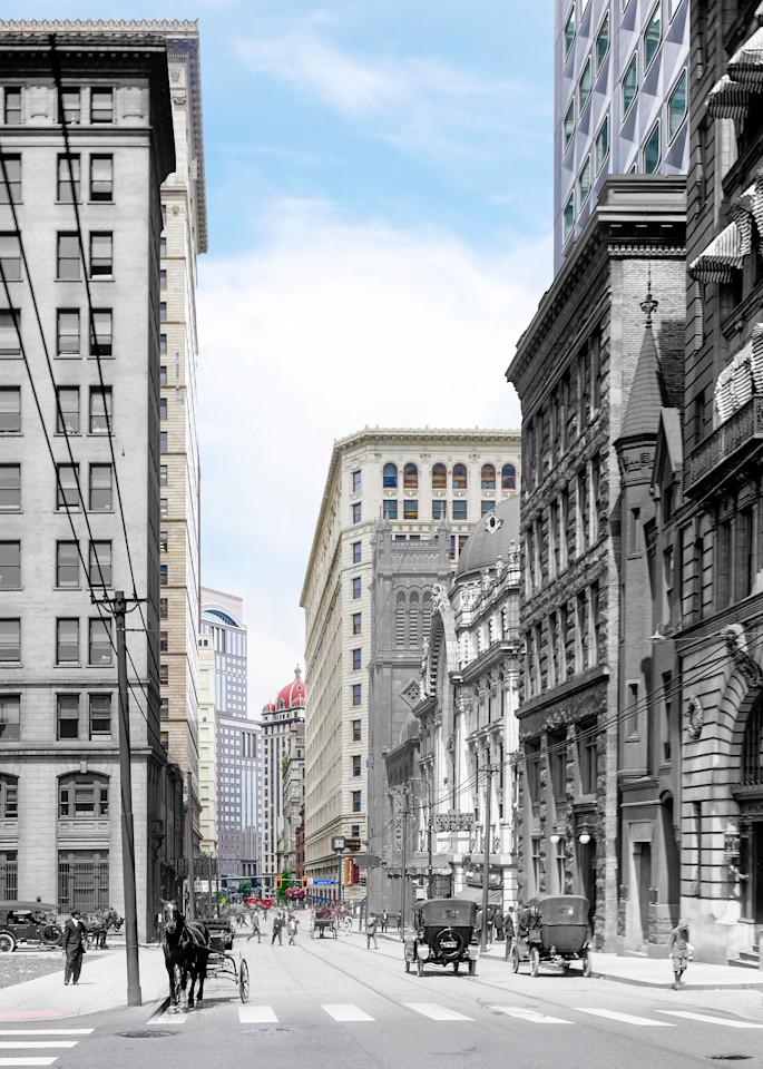 Sixth Avenue Above Nixon Theatre