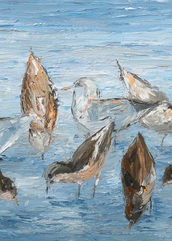 Morning Gathering Ii Art | Pamela Ramey Tatum Fine Art